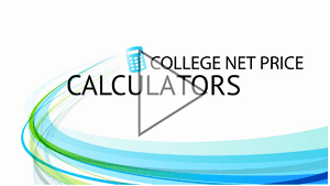 College Net Price Calculators