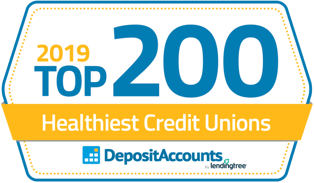 Deposit Accounts Top Credit Union ranking