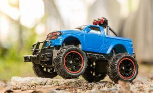 Blue RC Monster Truck