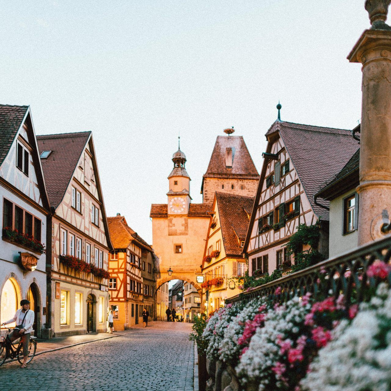 Bavarian street, Germany