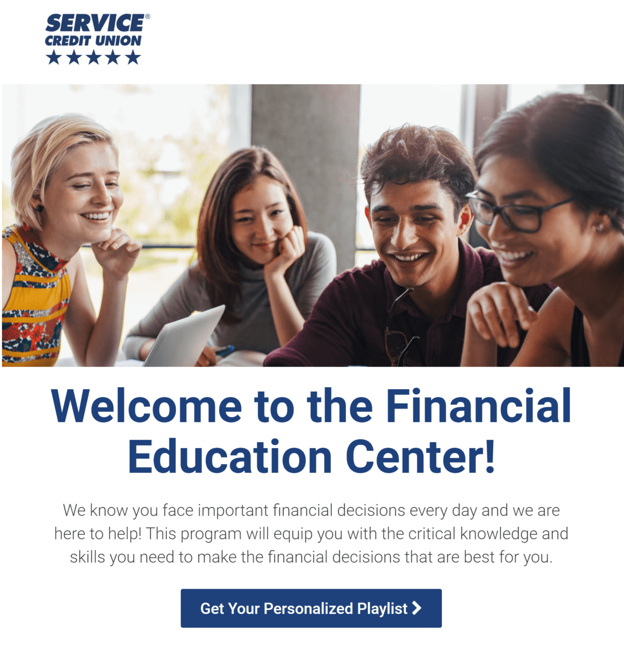 Welcome to the financial education center