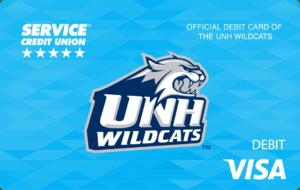 UNH Wildcats Debit Card