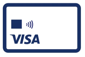 Visa Contactless Card