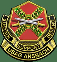 USAG Ansbach Crest